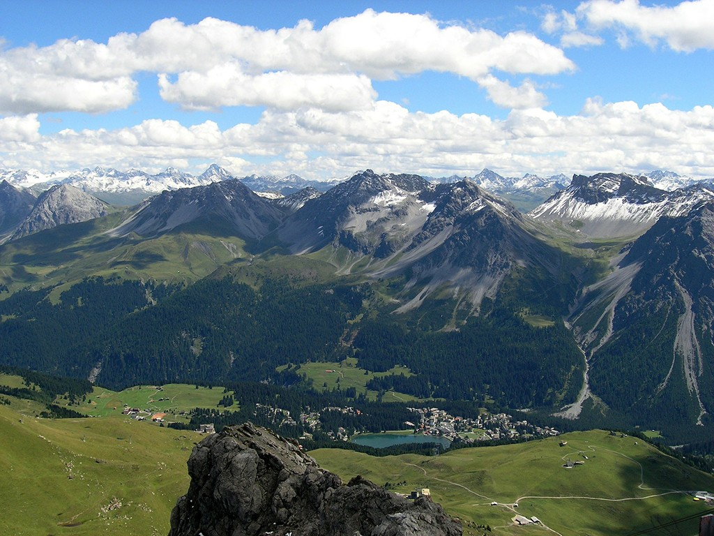 Arosa Mountainbike Transalp